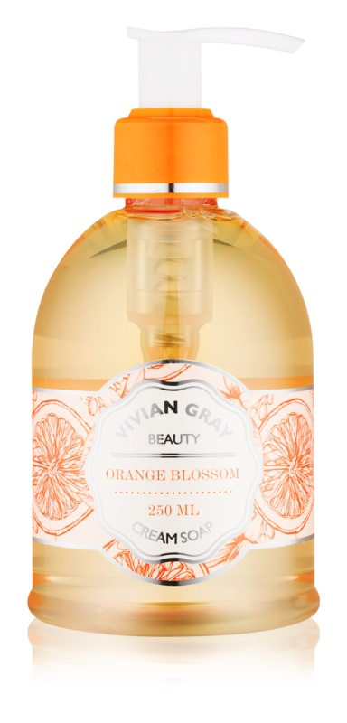 Vivian Gray Naturals Orange Blossom Cream Liquid Soap