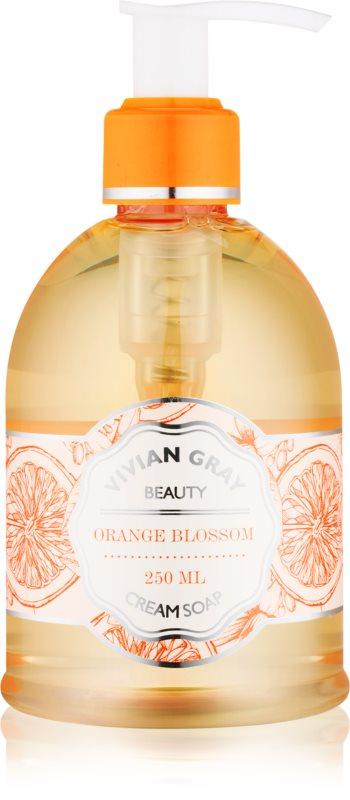 Vivian Gray Naturals Orange Blossom krémové tekuté mýdlo