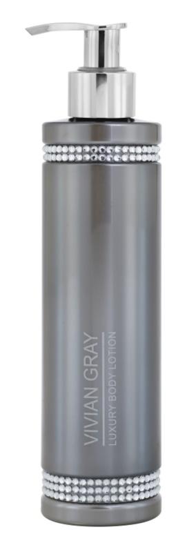 Vivian Gray Crystals Gray Body Lotion