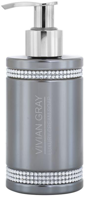 Vivian Gray Crystals Gray krémové mýdlo
