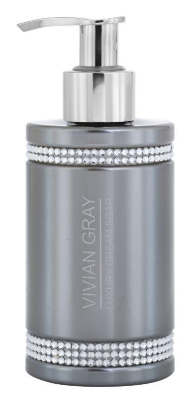 Vivian Gray Crystals Gray krémové mydlo