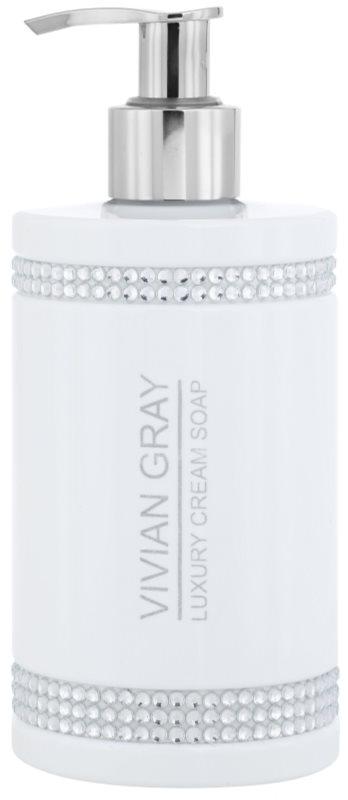 Vivian Gray Crystals White krémové mydlo