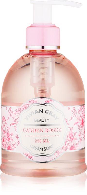 Vivian Gray Naturals Garden Roses Cream Liquid Soap