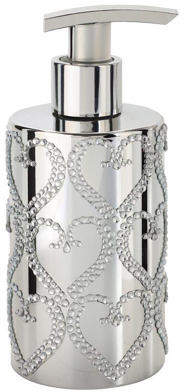 Vivian Gray Precious Silver Hearts Liquid Soap For Hands