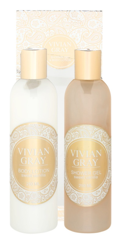 Vivian Gray Romance Sweet Vanilla zestaw kosmetyków II.