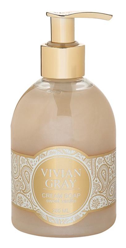 Vivian Gray Romance Sweet Vanilla krémové tekuté mydlo