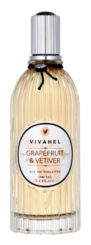 Vivian Gray Vivanel Grapefruit&Vetiver eau de toilette pour femme 100 ml