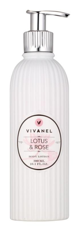 Vivian Gray Vivanel Lotus&Rose telové mlieko