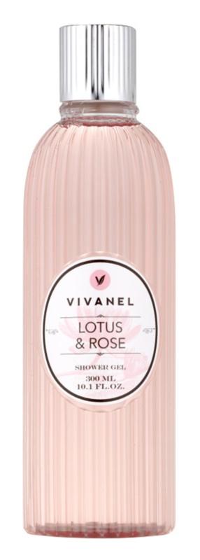 Vivian Gray Vivanel Lotus&Rose kremasti gel za prhanje