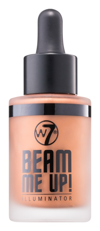 W7 Cosmetics Beam Me Up! iluminator lichid