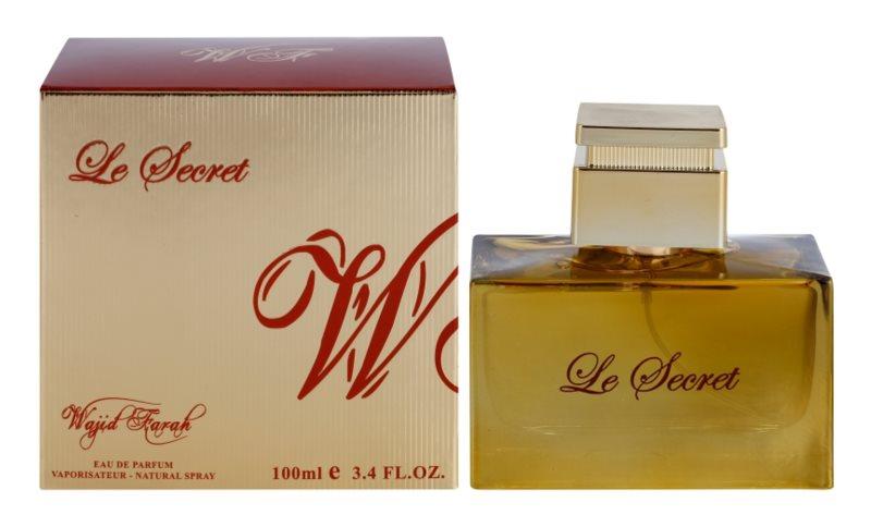 Wajid Farah Le Secret Eau de Parfum voor Vrouwen  100 ml