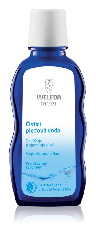 Weleda Cleaning Care água facial de limpeza  para todos os tipos de pele