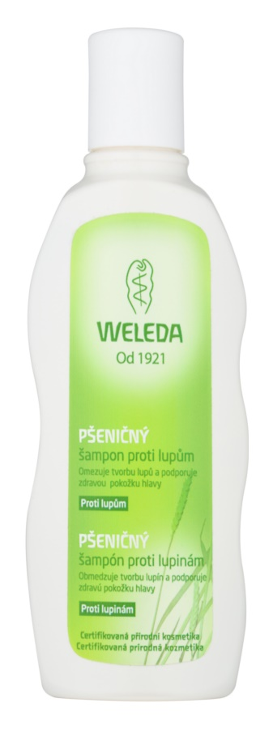 Weleda Hair Care Weizenshampoo gegen Schuppen