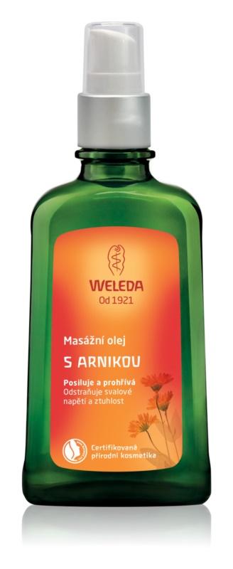 Weleda Arnika masážní olej s arnikou