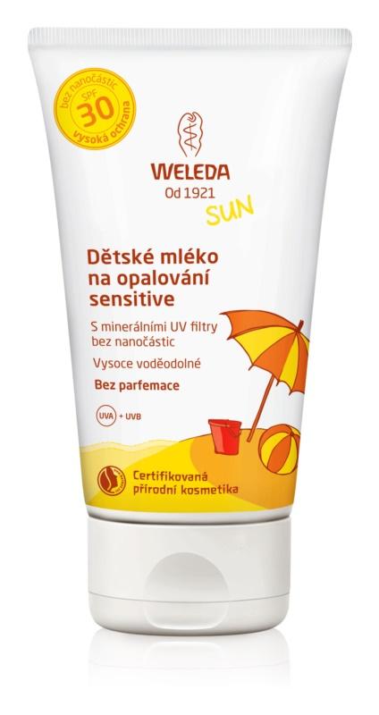 Weleda Sun lapte de soare pentru copii SPF 30