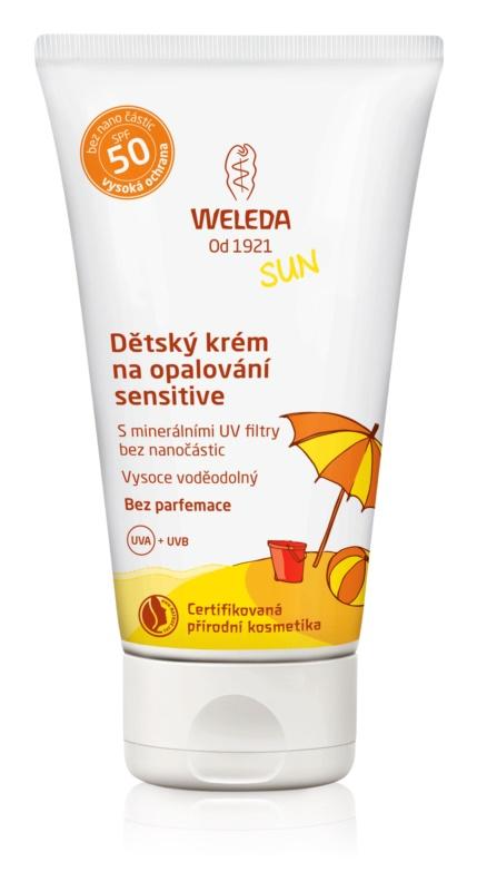 Weleda Sun Bräunungscreme für Kinder SPF50