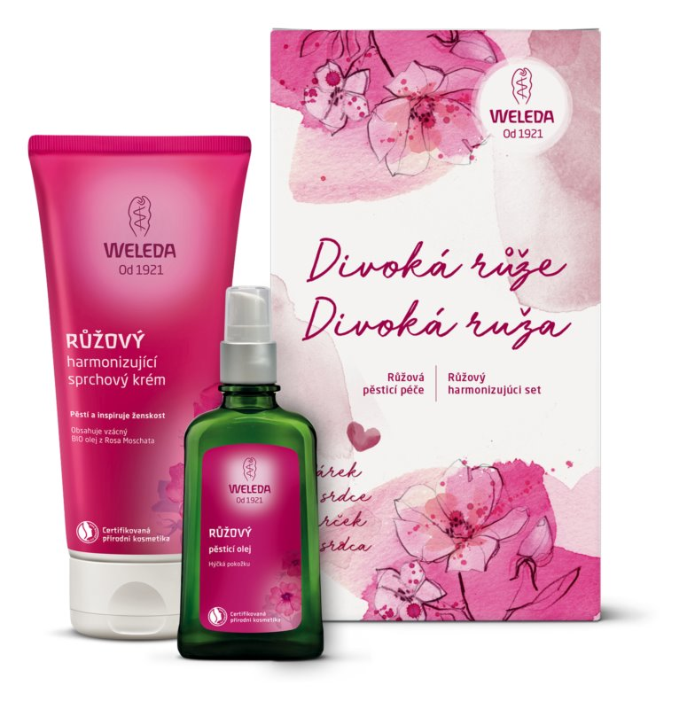 Weleda Rose Cosmetic Set I.