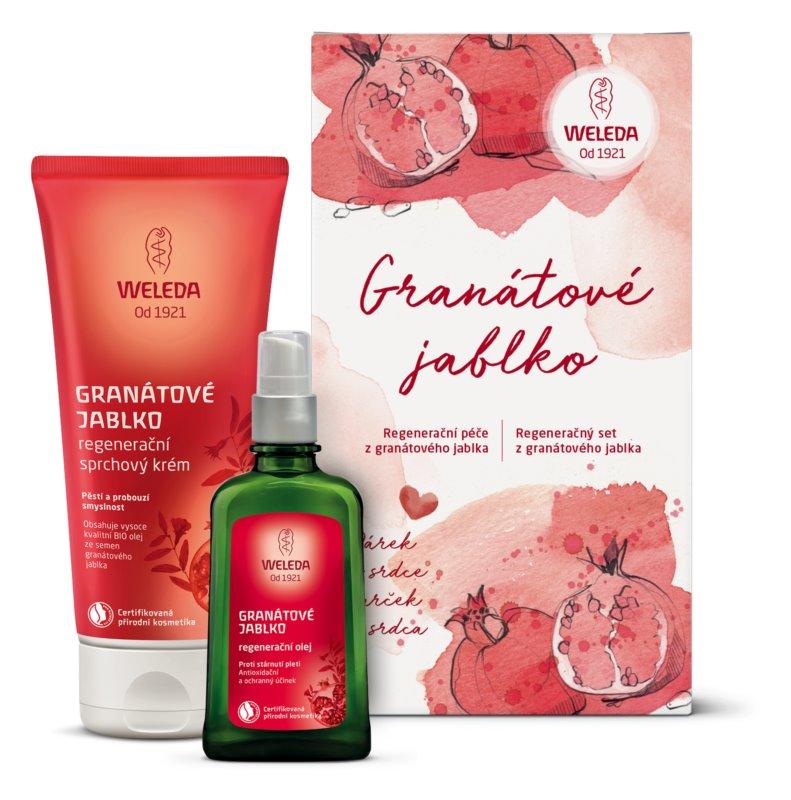 Weleda Pomegranate косметичний набір I.