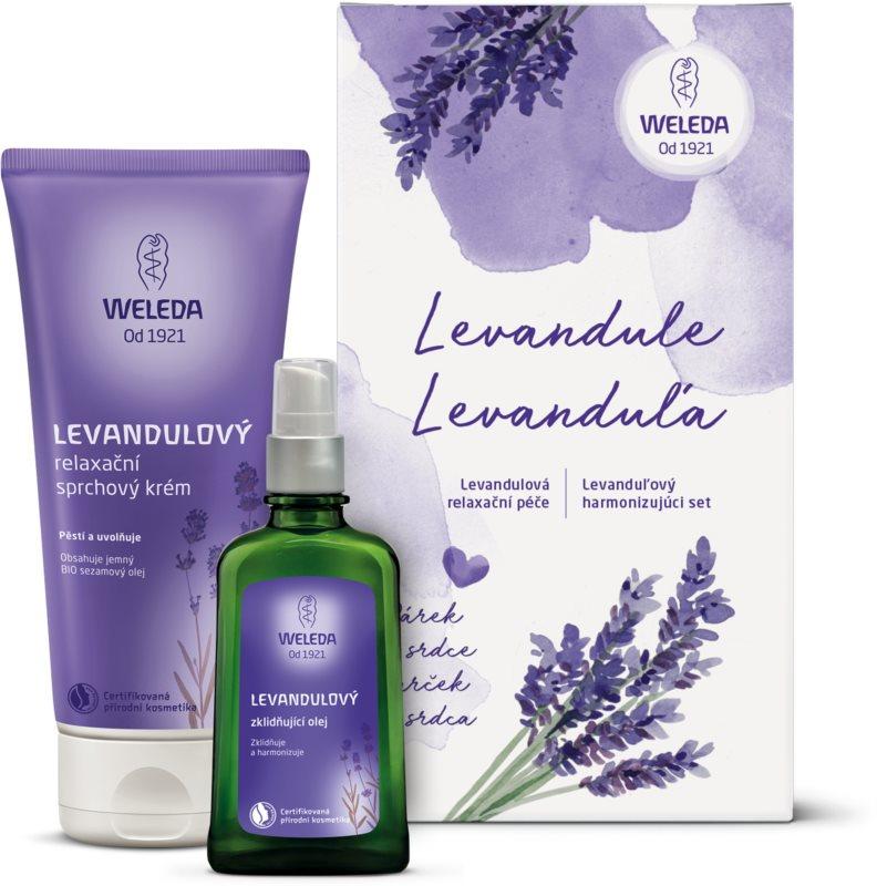 Weleda Lavender kozmetični set I.