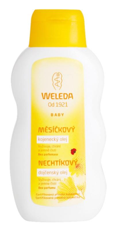 Weleda Baby and Child měsíčkový kojenecký olej bez parfemace