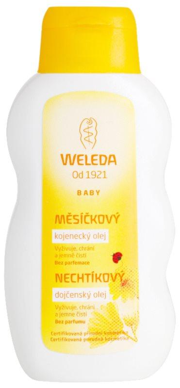 Weleda Baby and Child ulei pentru bebeluși, cu gălbenele fara parfum