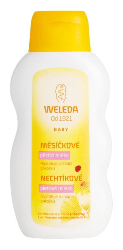Weleda Baby and Child bőrápoló tej körömvirág kivonatttal