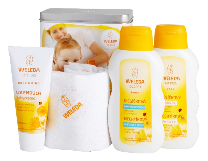 Weleda Baby and Child Kosmetik-Set  III.