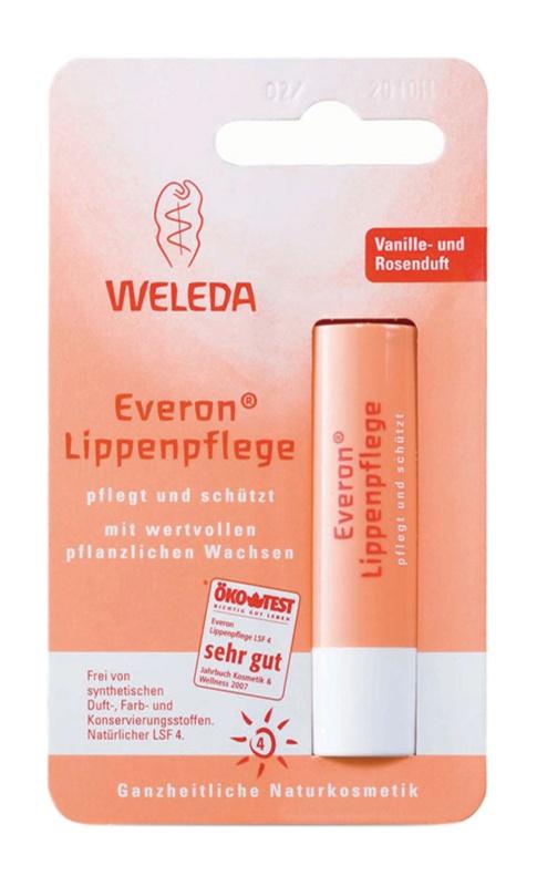 Weleda Everon захисний бальзам для губ SPF 4