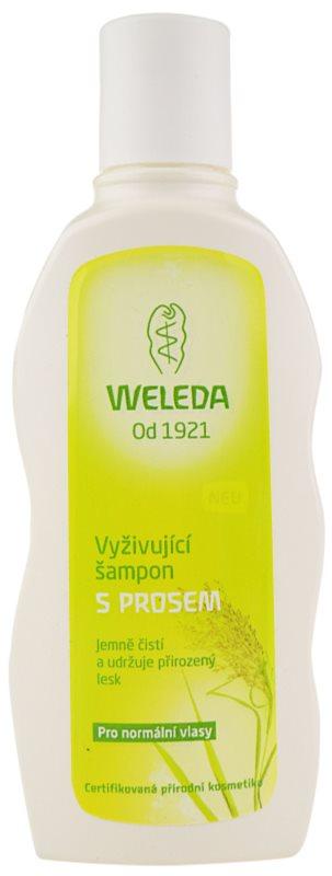 Weleda Hair Care tápláló köles sampon normál hajra