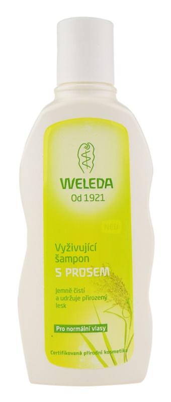 Weleda Hair Care поживний шампунь з просом для нормального волосся