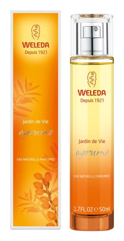 Weleda Jardin de Vie Agrume eau de parfum pour femme 50 ml