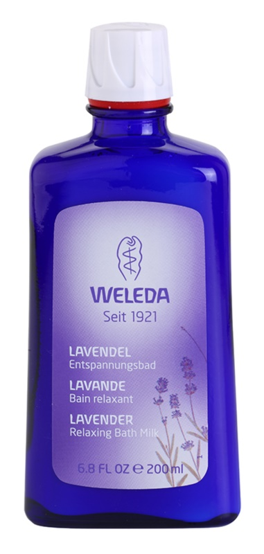 Weleda Lavender pomirjajoča kopel