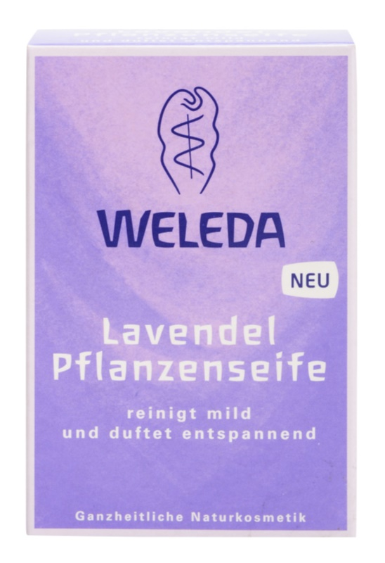 Weleda Lavender Plant Soap