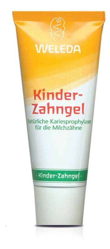 Weleda Dental Care gel dentifricio per bambini