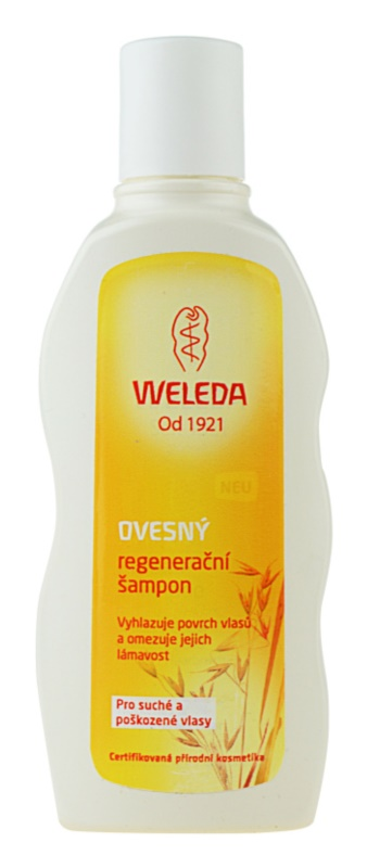 Weleda Oat Regenerating Shampoo for Dry and Damaged Hair