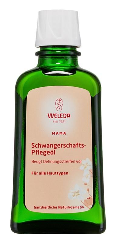 Weleda Pregnancy and Lactation подхранващо олио за бременни за стрии