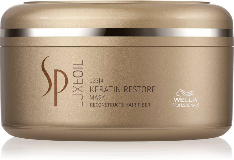 Wella Professionals SP Luxeoil Maske mit ernährender Wirkung für beschädigtes Haar
