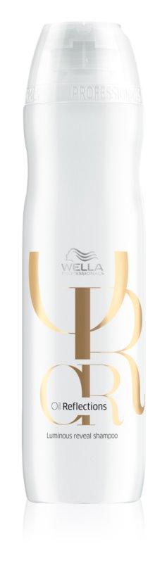Wella Professionals Oil Reflections leichtes feuchtigkeitsspendendes Shampoo für glänzendes und geschmeidiges Haar