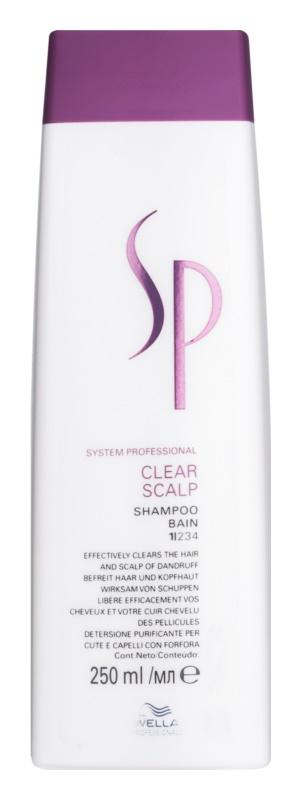 Wella Professionals SP Clear Scalp Shampoo gegen Schuppen
