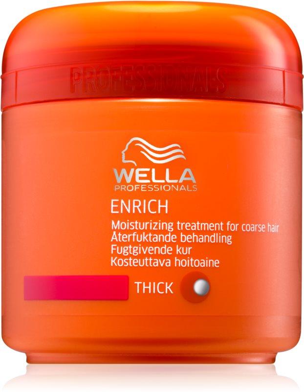 Wella Professionals Enrich vlažilna in hranilna maska za močne, grobe in suhe lase