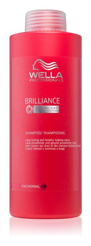 Wella Professionals Brilliance shampoo per capelli delicati e tinti