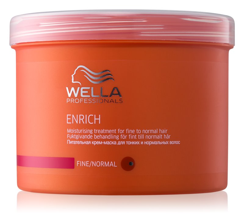 Wella Professionals Enrich máscara para cabelo fino e sem volume