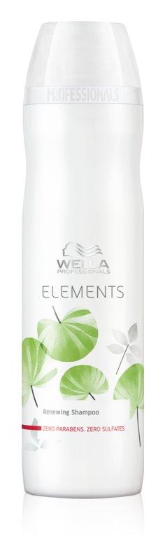 Wella Professionals Elements shampoing rénovateur sans sulfates
