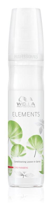 Wella Professionals Elements öblítést nem igénylő hajkúra spray -ben