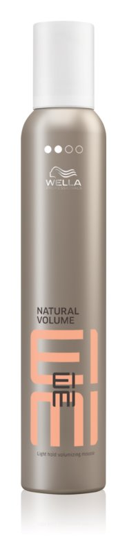 Wella Professionals Eimi Natural Volume Styling Mousse with Volume Effect