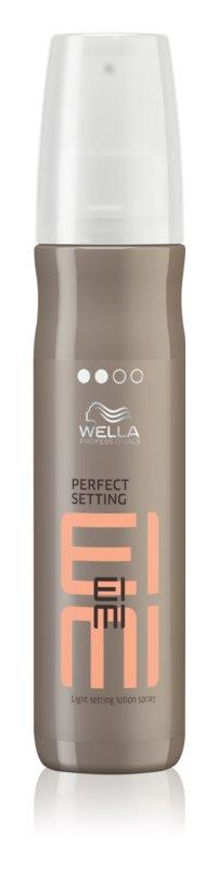 Wella Professionals Eimi Perfect Setting fixační sprej pro lesk a hebkost vlasů