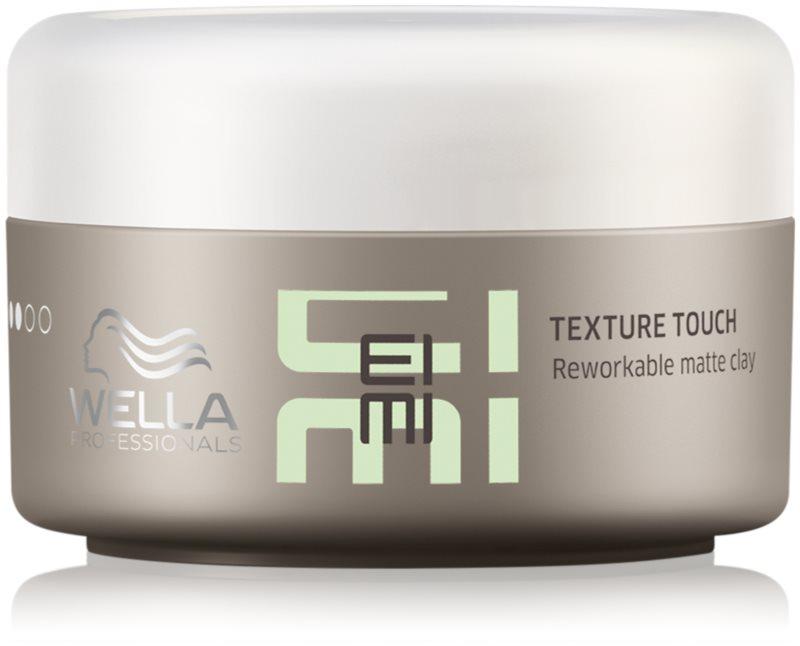 Wella Professionals Eimi Texture Touch Hairstyling-Lehm mit Matt-Effekt