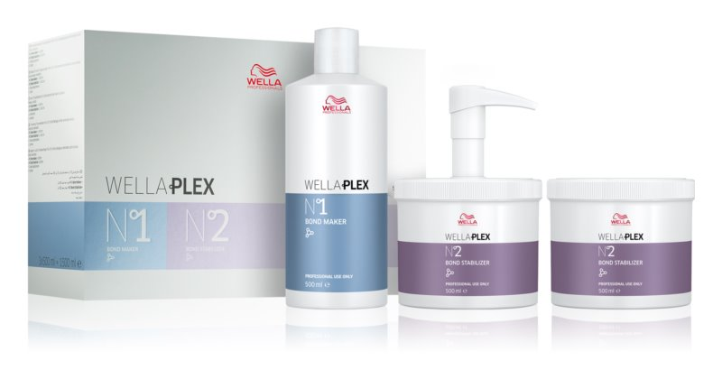 Wella Professionals Wellaplex kozmetični set II. (za poškodovane lase)