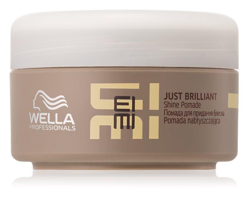 Wella Professionals Eimi Just Brilliant pomáda na lesk a hebkosť vlasov