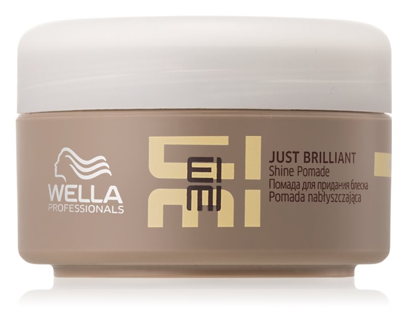 Wella Professionals Eimi Just Brilliant Pomade for Shiny and Soft Hair